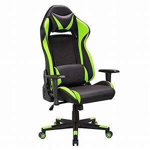Pc Gamer Stuhl : gaming stuhl chair schreibtischstuhl ergonomisch gamer b rostuhl pu leder kunstleder computer ~ Orissabook.com Haus und Dekorationen