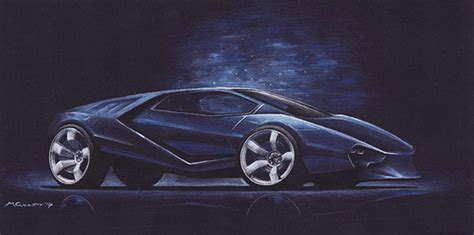 Supercar Drawings (2014) On Behance