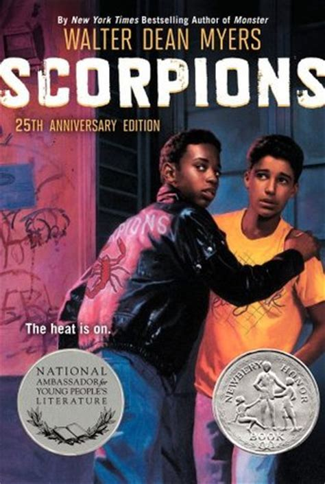 scorpions  walter dean myers reviews discussion