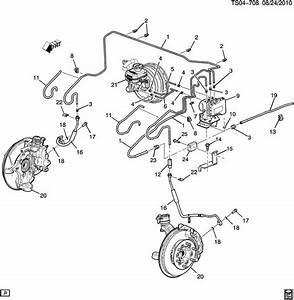 2006 Chevrolet Colorado Pipe  Fuel Line  Hydraulic Brake