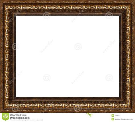 Cornice Immagine Cornice Rustica Antica Isolata Immagine Stock Immagine