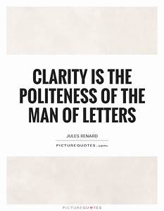 Politeness Quot... Clarity Relationships Quotes
