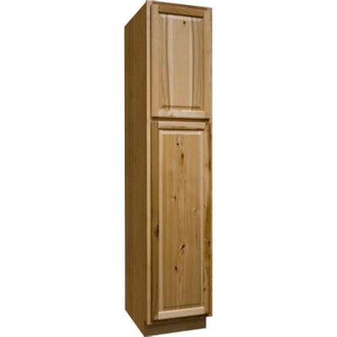 hton bay 18x84x24 in hton pantry cabinet in natural