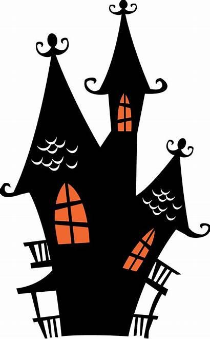 Halloween Clipart Haunted Houses