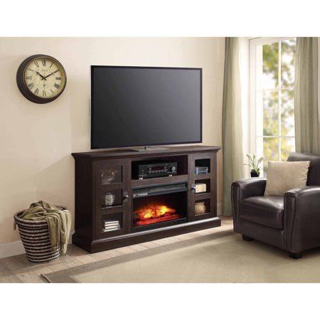whalen fireplace tv stand whalen media fireplace console for tvs up to 70 quot
