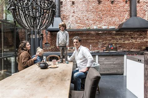 House Tour  Amsterdam Warehouse Turned Family Home