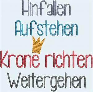 Spruch Krone Richten : stickdateien brother pes lieblings tante page 2 ~ Markanthonyermac.com Haus und Dekorationen