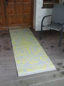 Teppich Grün Grau : wetterfester balkonteppich outdoor teppich 70 x 200 cm gr n grau landhaus ebay ~ Avissmed.com Haus und Dekorationen