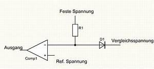 Spannung Berechnen Mechanik : frage comparator vergleichsmessung mit entkopplungsdiode ~ Themetempest.com Abrechnung