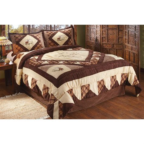 whitetail chenille comforter set 208881 quilts at