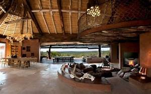 Luxury, South, African, Villa, With, Cave-like, Interiors
