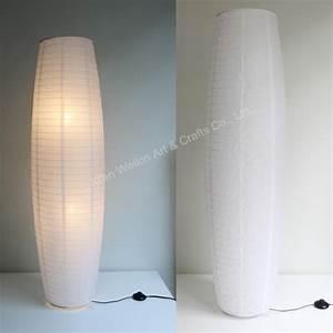 Floor standing paper lamp shades buy standing paper lamp for Ikea floor lamp paper shade replacement