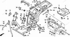 Honda Scooter 2000 Oem Parts Diagram For Frame