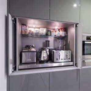 Creative Small Kitchen Appliance Storage Ideas
