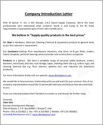 image result  manufacturing company introduction letter