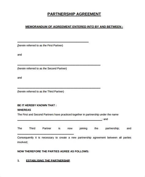 sample partnership dissolution agreement templates
