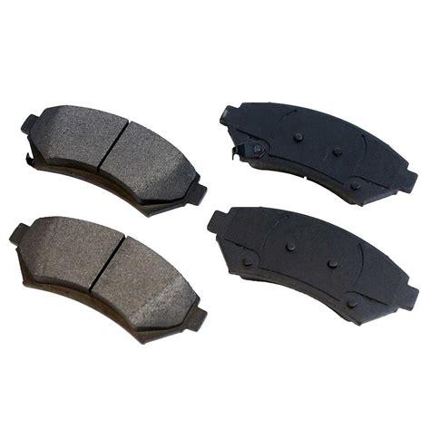 Front Ceramic Disc Brake Pad Kit Full Set With Lifetime