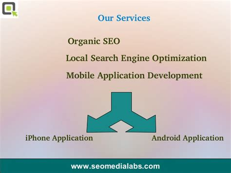 Organic Seo Services by Seo Media Labs Organic Seo Services