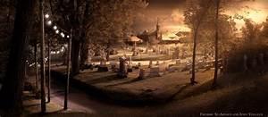 Graveyard Backgrounds ·①