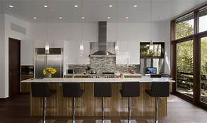 Contemporary house styles small contemporary house for Modern house interior design kitchen