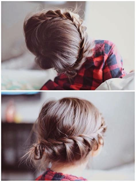 Easy Do It Yourself Updo Hairstyles by Fresh Cuts Braid Hairstyle Updo Do It