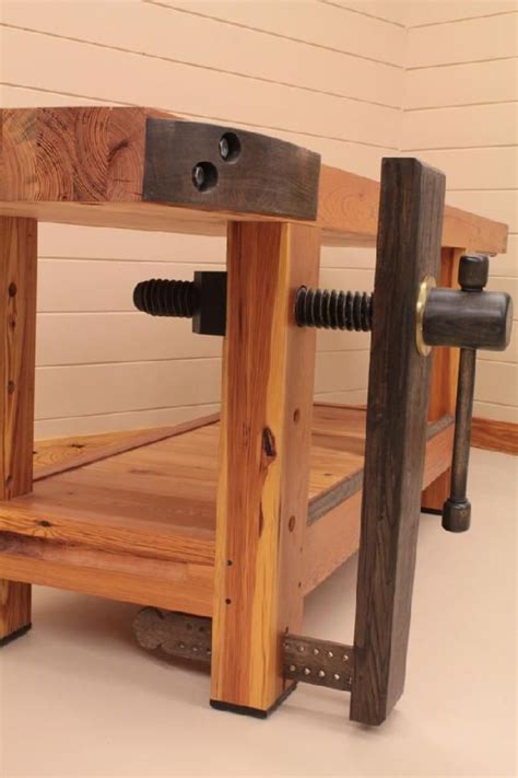 workbench   month wood vise screw  wooden