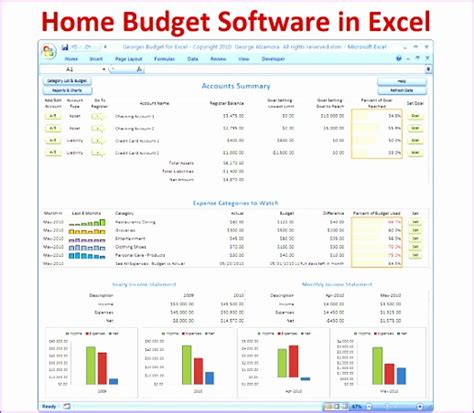 excel simple budget template exceltemplates