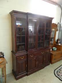 link mahogany breakfront china cabinet sold jenkins antiques