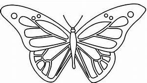 Dessin Facile Papillon : coloriage papillon les beaux dessins de animaux imprimer et colorier page 4 ~ Melissatoandfro.com Idées de Décoration