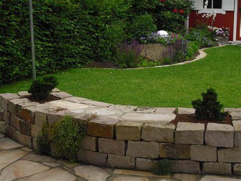 Gartenmauern Aus Naturstein  Der Andere Garten In