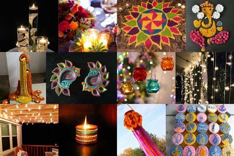 Diwali Decoration Ideas With Diyas, Rangoli, Candles And