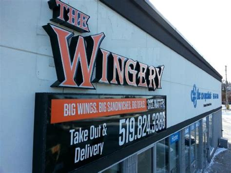 street sign picture of the wingery guelph tripadvisor