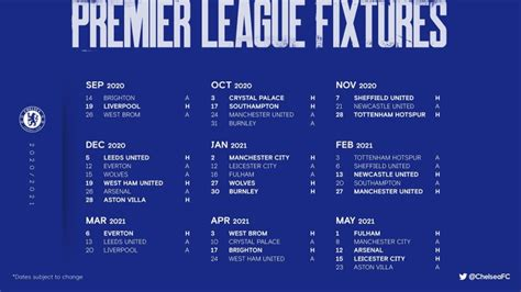 Enjoy this look at next season's fixtures including the key dates for our matches with manchester city, liverpool, chelsea, arsenal & spurs.subscribe to. 2020/21 Premier League Fixtures Revealed: Liverpool Vs ...