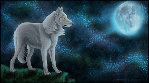 the white wolf by nathalienova on deviantart