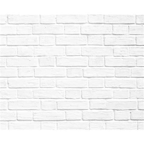 papier peint briques blanche