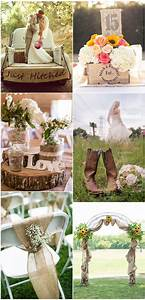 100 rustic country wedding ideas and matched wedding for Burlap and lace wedding decorations