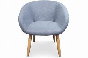 Fauteuil Bleu Scandinave : fauteuil style scandinave bleu blondie chaise design pas cher ~ Teatrodelosmanantiales.com Idées de Décoration