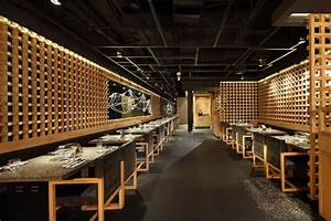 yakiniku master restaurant design by golucci international With japanese restaurant interior design ideas