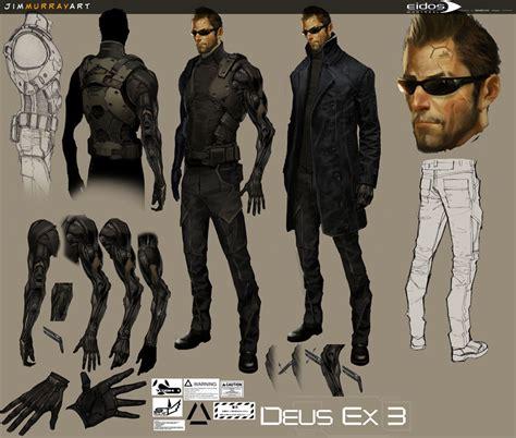 Jim Murray Art Deus Ex Characters