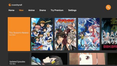 anime in crunchyroll crunchyroll app streams anime and on shield nvidia