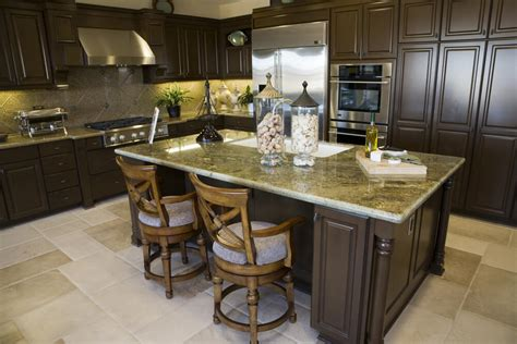kitchen middle island 39 fabulous eat in custom kitchen designs 2301