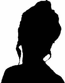 information about woman head silhouette front
