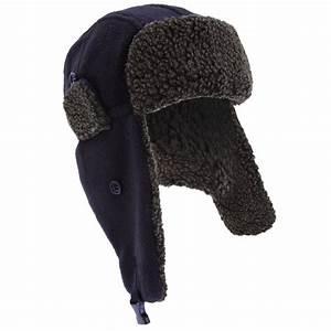 Mens Fleece Thermal Winter Trapper Ski Hat