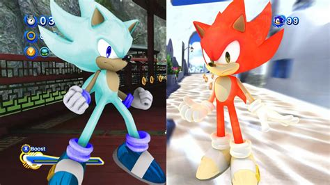 sonic generations mods fire ice super unleashed