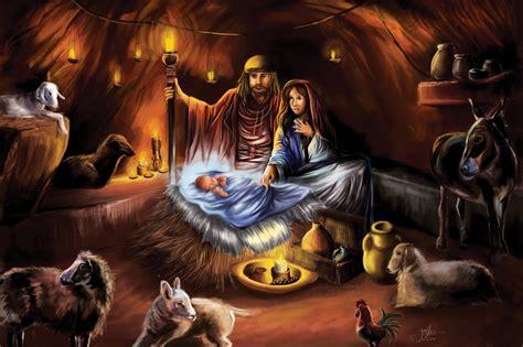 Jesus Birth Images Wallpaper by Jesus Birth Wallpaper Wallpapersafari