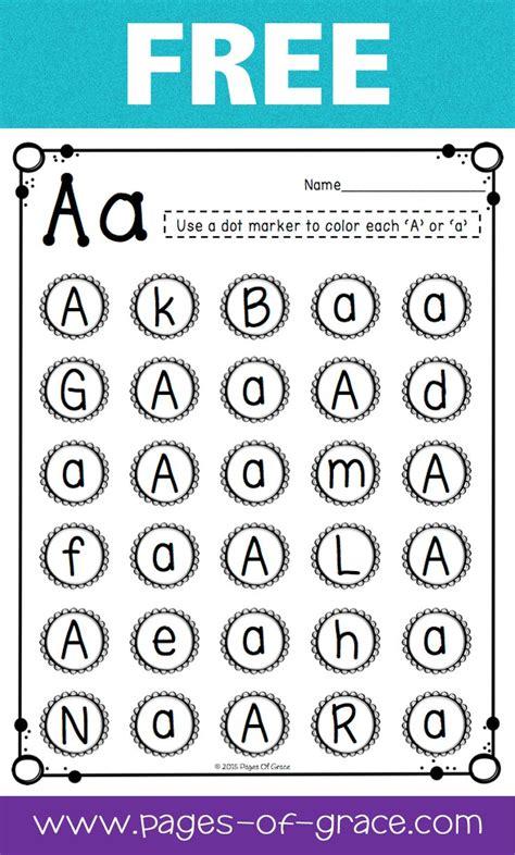 Letter Recognition  Kindergarten Classroom, Worksheets And Homeschool