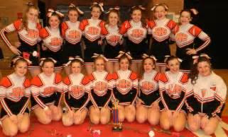 Senior High School Varsity Cheerleader