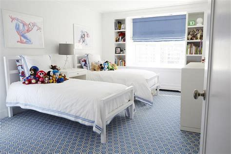 20 Fascinating Child's Rooms With Identical Beds Designs