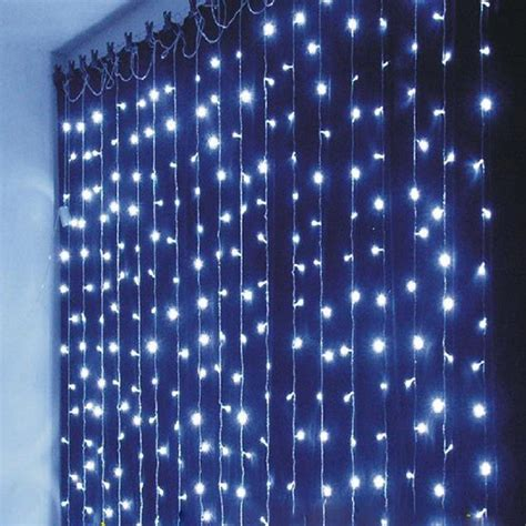 curtain outdoor christmas lights christmas outdoor decoration 3m x 1m curtain icicle string