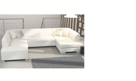 canap d angle blanc convertible canapé d 39 angle panoramique convertible blanc enis